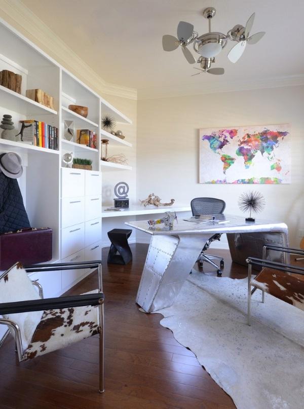 Кабинет в квартире дизайн фото 4