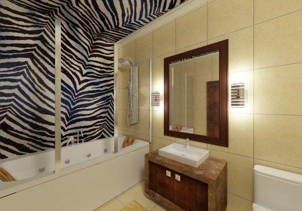 Настенные светильники в ванной комнате, фото 10