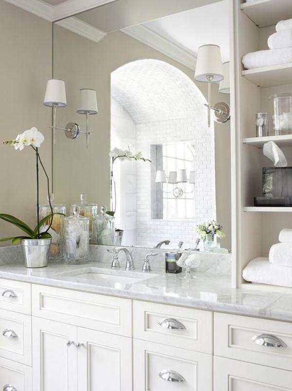 Настенные светильники в ванной комнате, фото 11