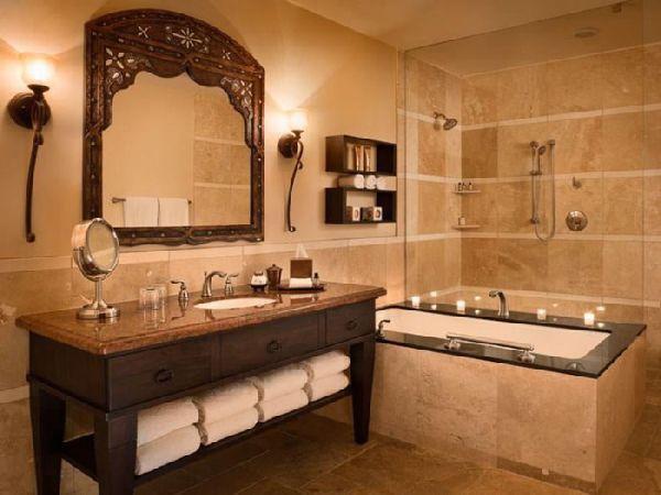 Настенные светильники в ванной комнате, фото 2