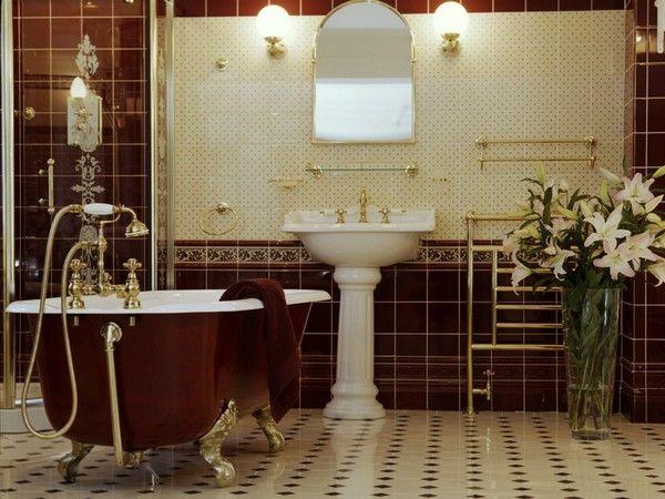 Настенные светильники в ванной комнате, фото 6