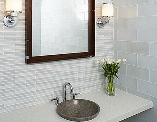 Настенные светильники в ванной комнате, фото 7