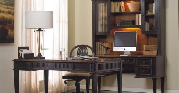 Оригинальный интерьер кабинета в квартире