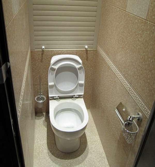 Интерьер в туалете своими руками 91