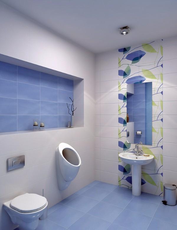 Дизайн плитки в туалете, фото 1