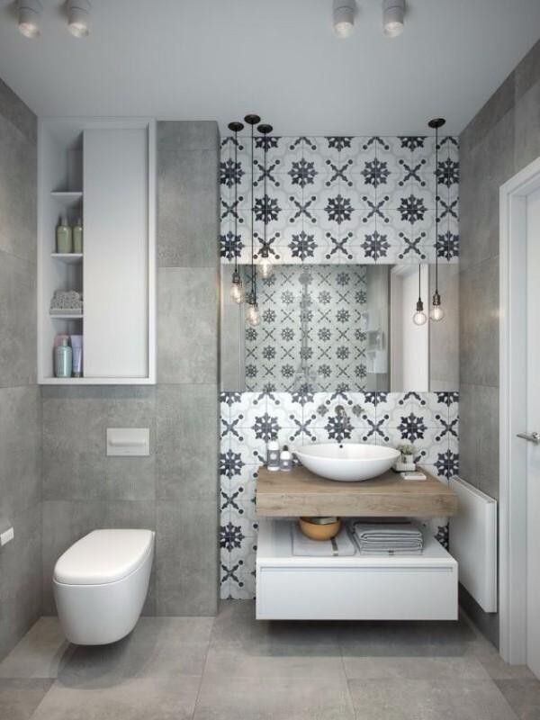Дизайн плитки в туалете, фото 3