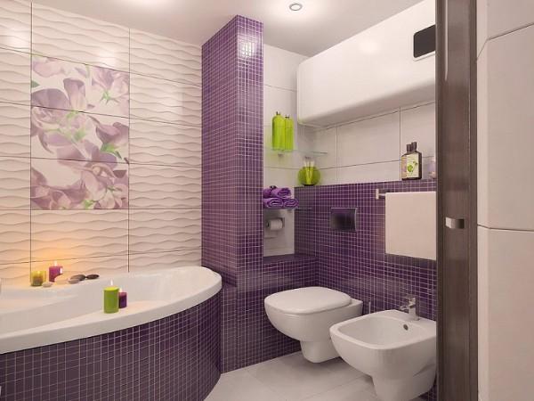 Дизайн плитки в туалете, фото 4