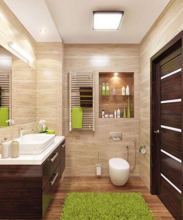 Дизайн плитки в туалете, фото 14