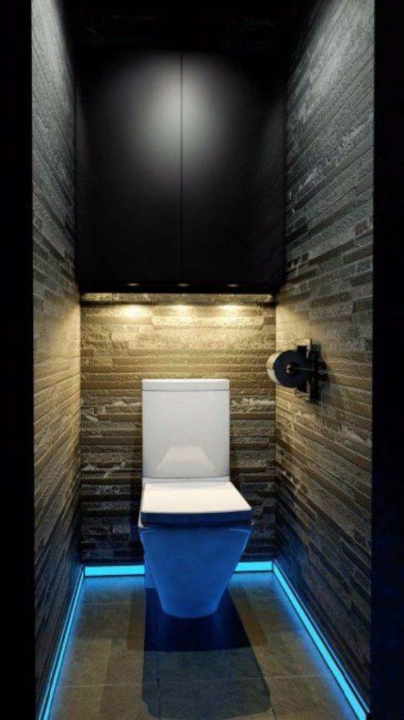 Плитка в маленький туалет дизайн фото 5
