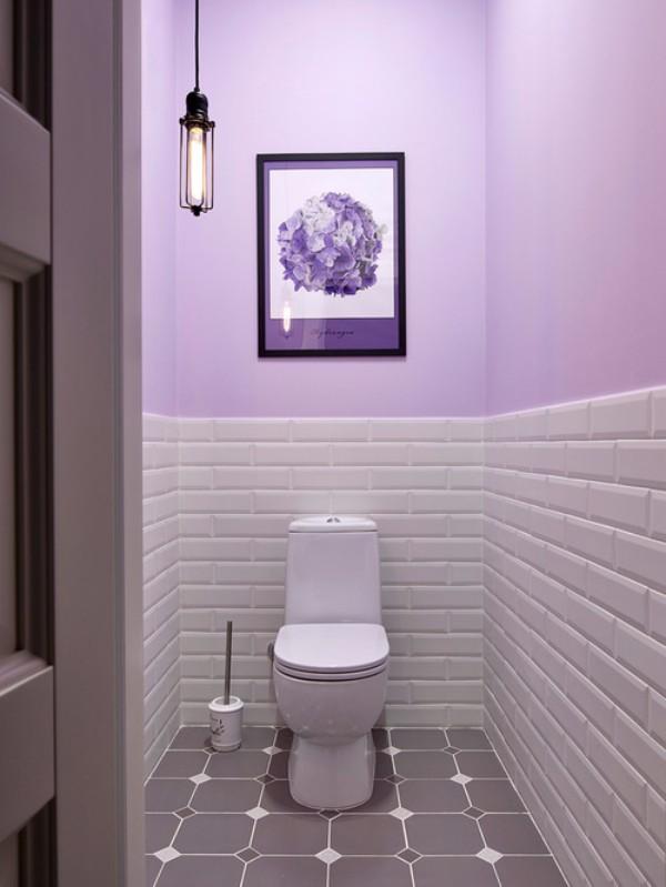 Плитка в маленький туалет дизайн фото 7