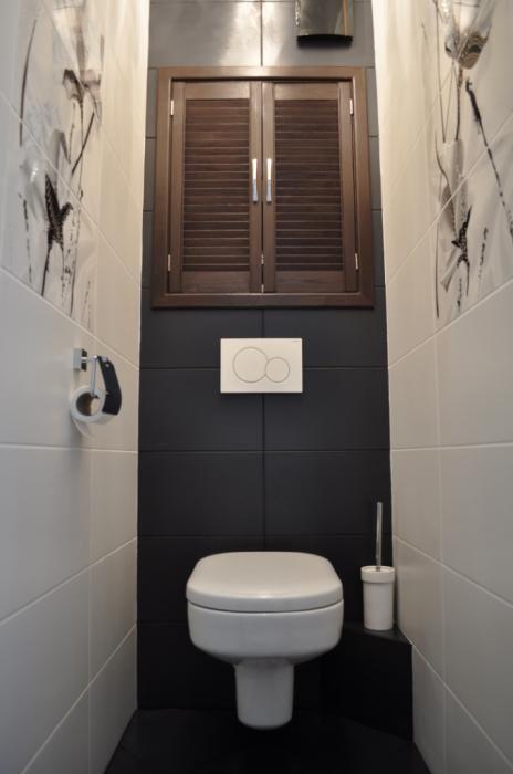 Плитка в маленький туалет дизайн фото 12