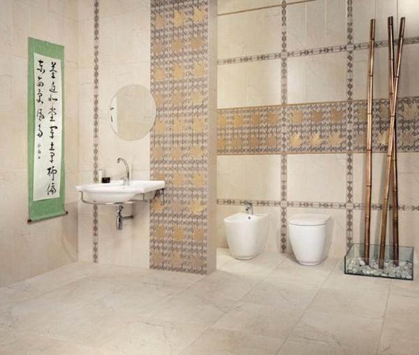 Дизайн плитки в туалете, фото 25