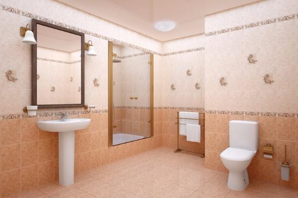 Дизайн плитки в туалете, фото 10