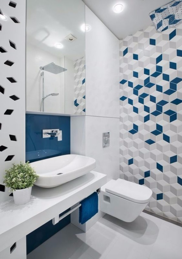 Дизайн плитки в туалете, фото 23