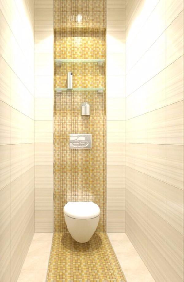 Плитка в маленький туалет дизайн фото 9