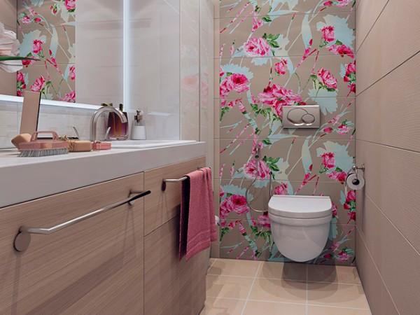 Дизайн плитки в туалете, фото 22