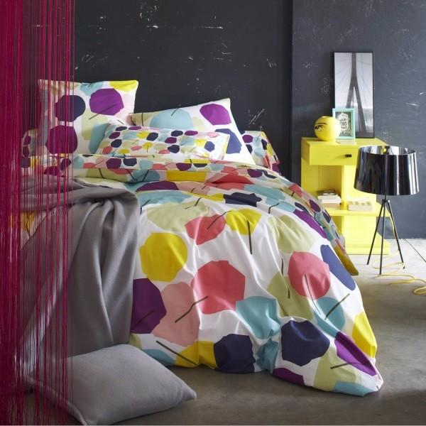 Фото постельного белья на кровати 17