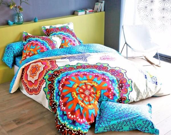 Фото постельного белья на кровати 18