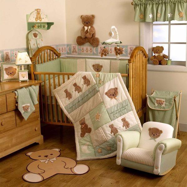Постельное белье в детскую кроватку фото 49