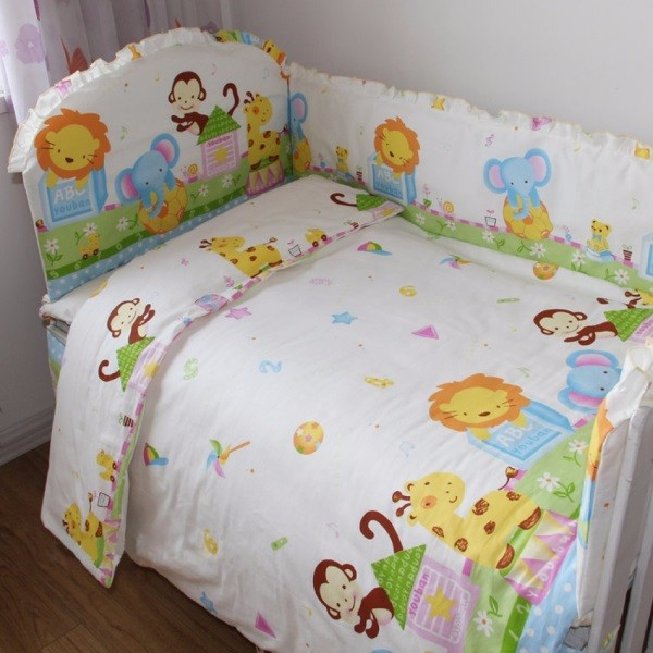 Постельное белье в детскую кроватку фото 50