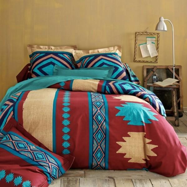 Фото постельного белья на кровати 22