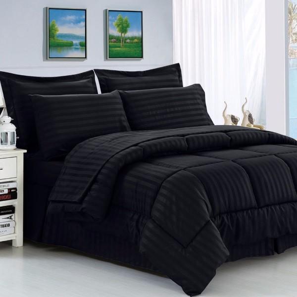 Черное постельное белье фото 56