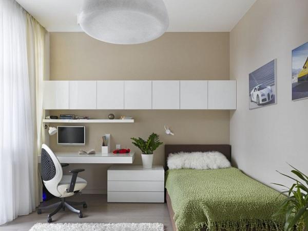Рабочий кабинет в квартире фото 3