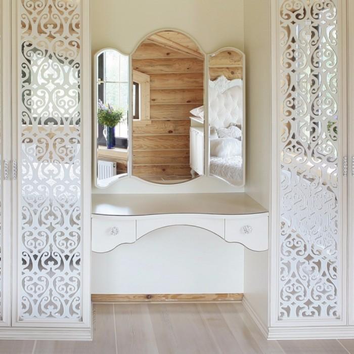 Туалетные столики с зеркалом для спальни фото 29