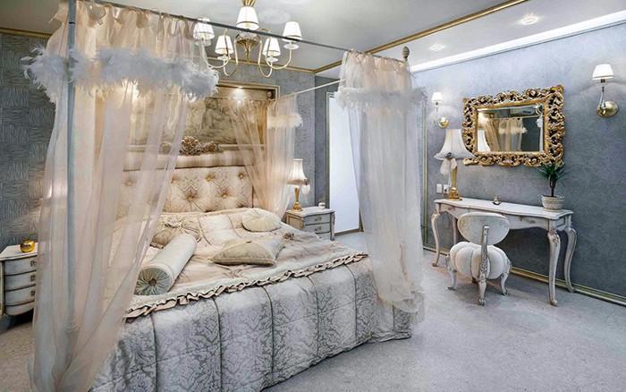 Туалетные столики с зеркалом для спальни фото 16