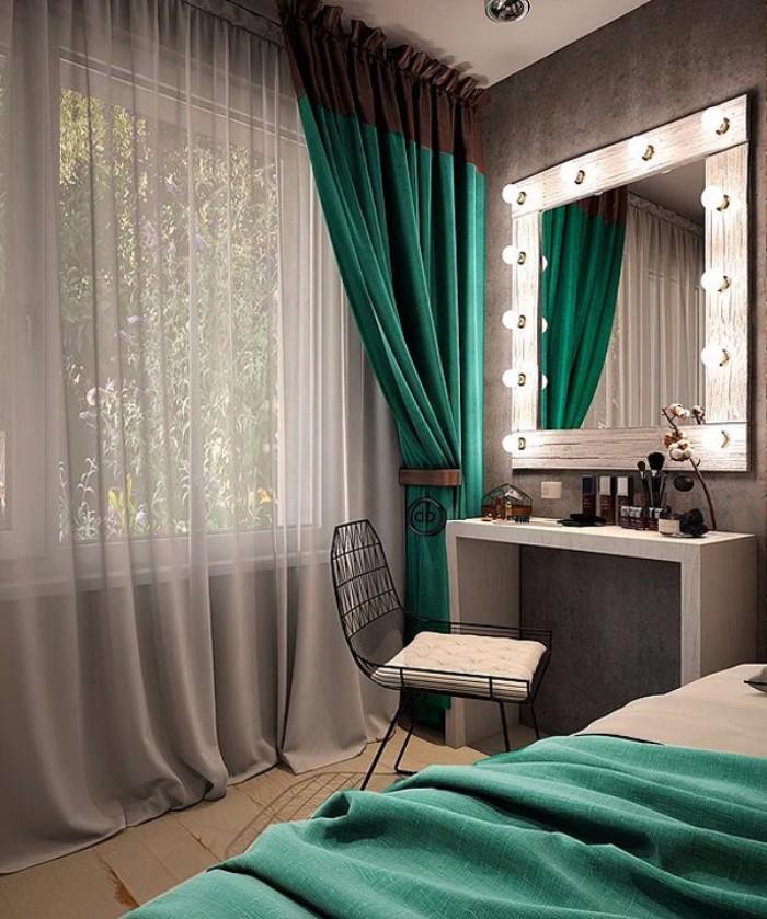 Туалетные столики с зеркалом для спальни фото 2