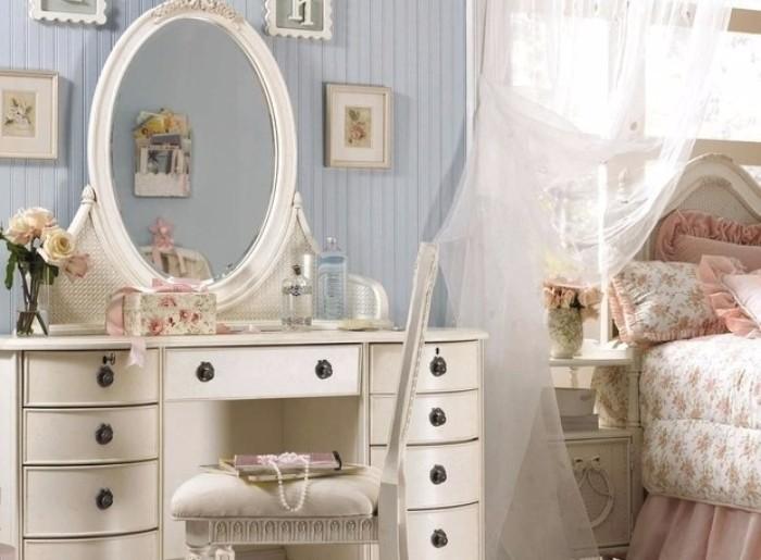 Туалетные столики с зеркалом для спальни фото 3