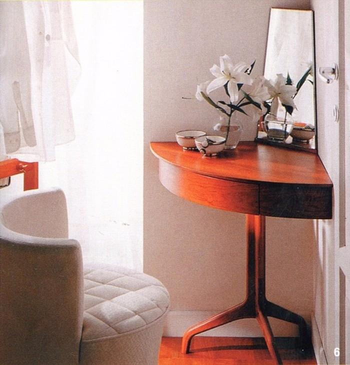 Угловой туалетный столик для спальни фото 39