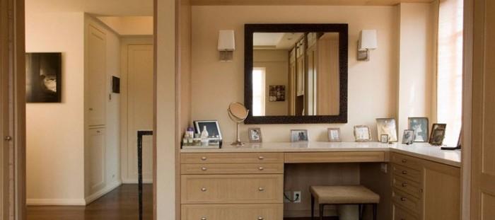 Угловой туалетный столик для спальни фото 38