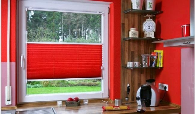 Жалюзи на пластиковые окна фото 1 на кухню
