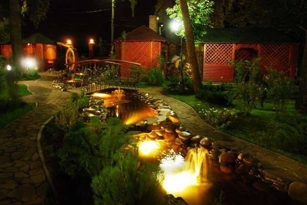 Ландшафтный дизайн двора частного дома, фото 1