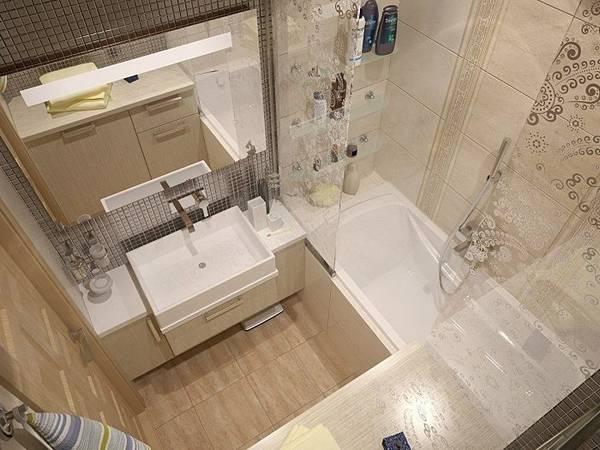 идеи для ремонта небольшой ванной, фото 10