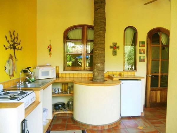 декоративная штукатурка на кухне, фото 10