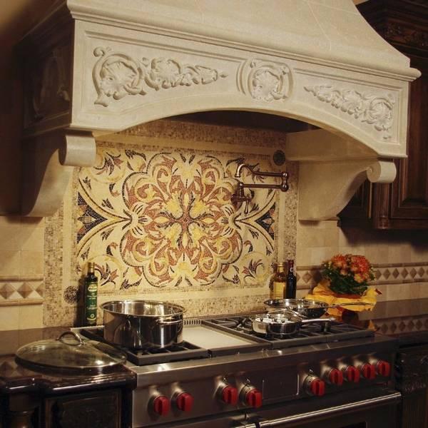 панно из плитки на кухню, фото 15