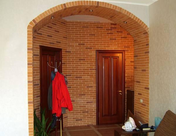 арка из гипсокартона, фото 37