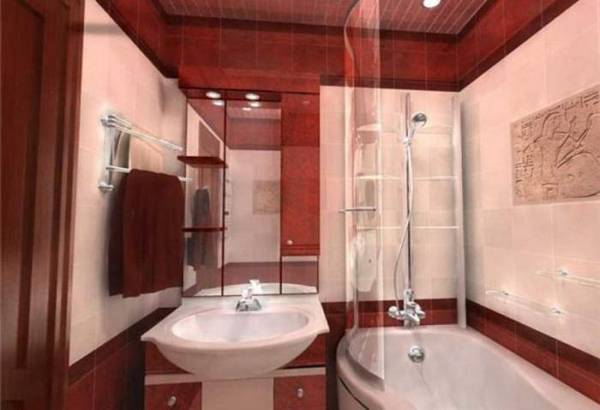 идеи для ремонта небольшой ванной, фото 11