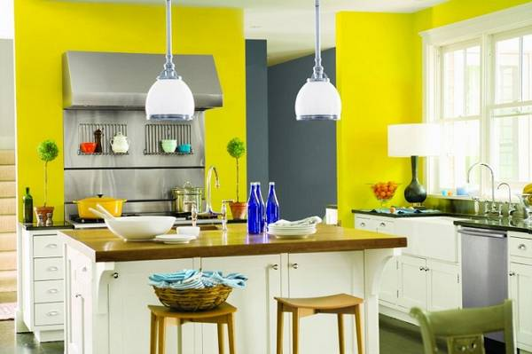 декоративная штукатурка на кухне, фото 11