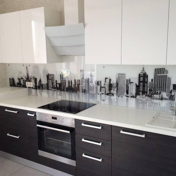 Черно-белая кухня, фото 12