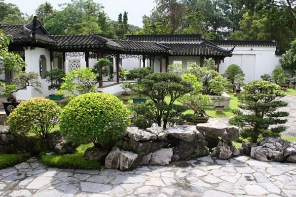Ландшафтный дизайн двора частного дома, фото 20