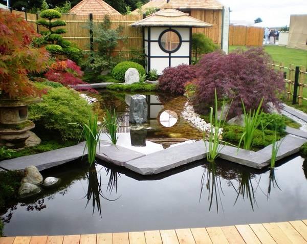 Ландшафтный дизайн двора частного дома, фото 22