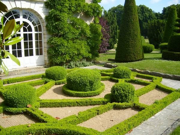 Ландшафтный дизайн двора частного дома, фото 23