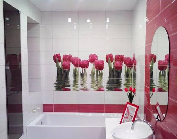 панно из плитки в ванную, фото 6