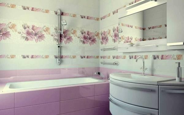 отделка стен керамической плиткой, фото 24