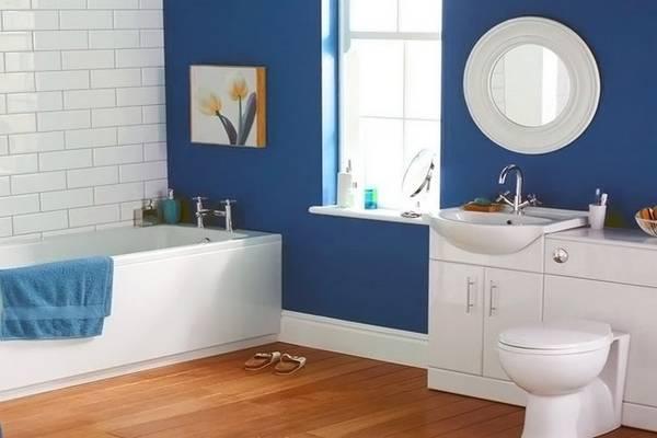отделка стен в ванной, фото 25
