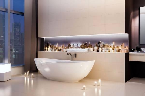 панно из плитки в ванную, фото 7