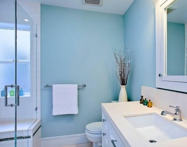 отделка стен в ванной, фото 27